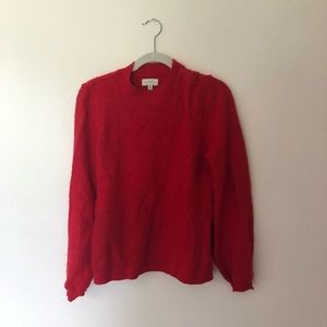 Extremely soft long sleeve sweater.